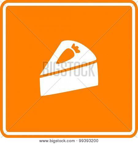 carrot cake sign