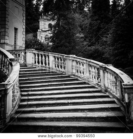 Old Marble Staircase