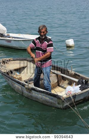 A turkish fisherman