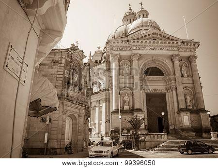 Church St. John In Gozo, Malta