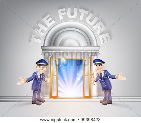 Door To The Future And Doormen