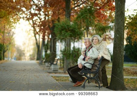 Beautiful elder couple