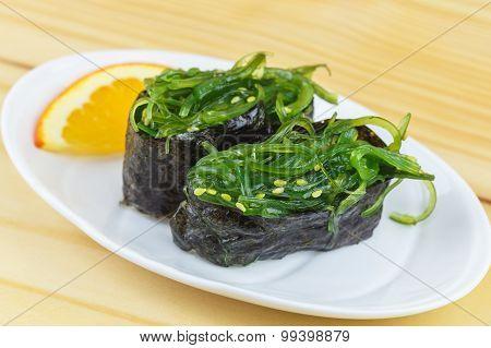 Traditional Japanese Food, Chuka Wakame Seaweed Salad