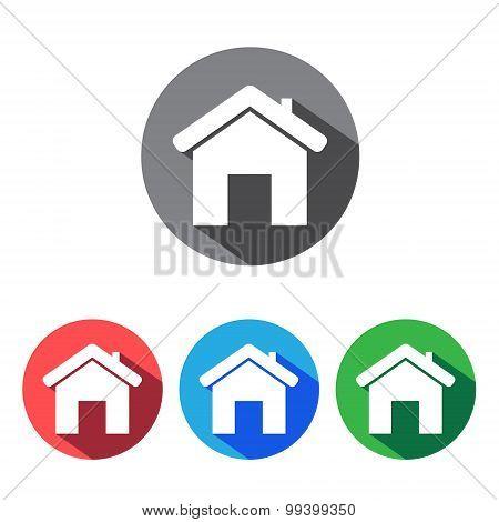 House flat icons