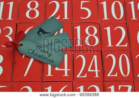 Advent Calendar - Merry Christmas - Ho Ho Ho