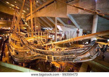 Vasa Museum in Stockholm, Sweden.