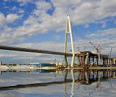 foto of skyway bridge  - the cable - JPG