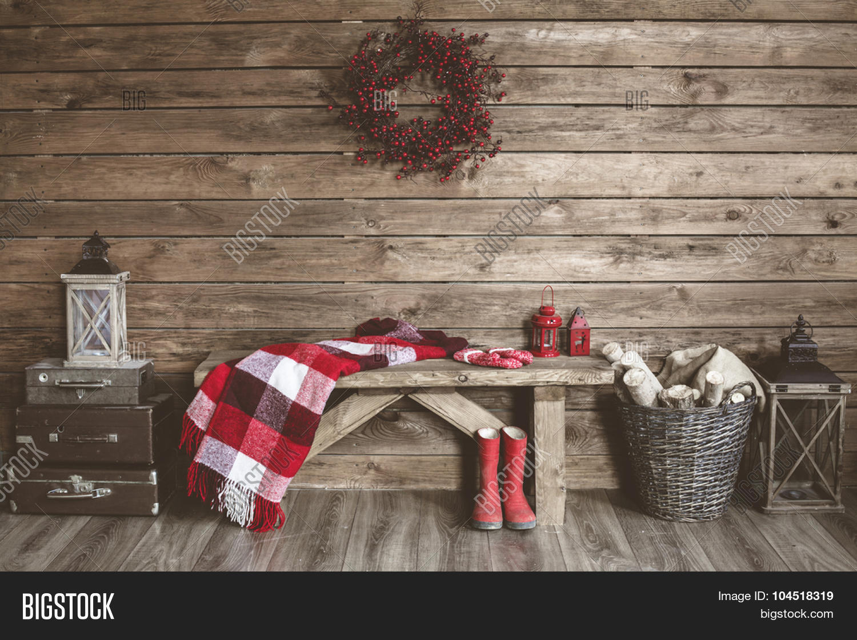 Winter home decor christmas rustic image photo bigstock Christmas moose home decor