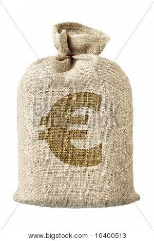 Money-bag With Euro Symbol