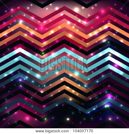 Seamless background pattern with polygonal form.Beautiful celebration background with romantic color