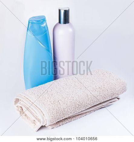 Shampoo, Towel