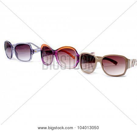 Three Trendy sunglasses