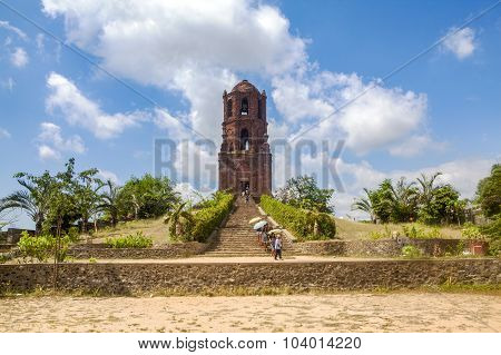 Old Bell Tower Of Bantay