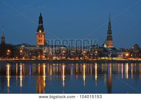 Night Riga
