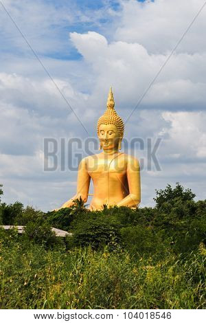 Biggest Seated Buddha In Thailand