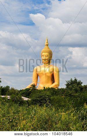 Biggest Seated Buddha In Thailand