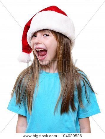 Christmas Santa Girl.