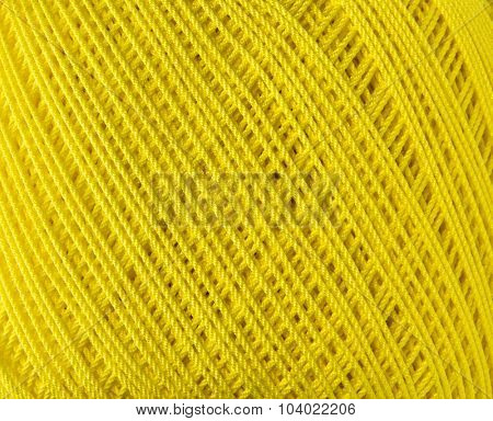 Yellow Thread Background
