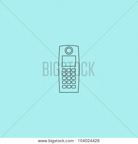 Retro Mobile Phone Icon