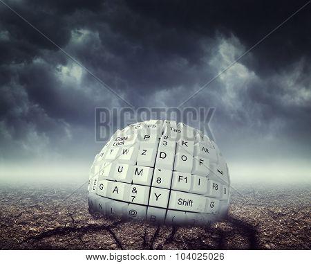 Keyboard ball