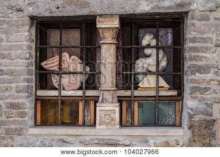 Window In Assisi, Italy