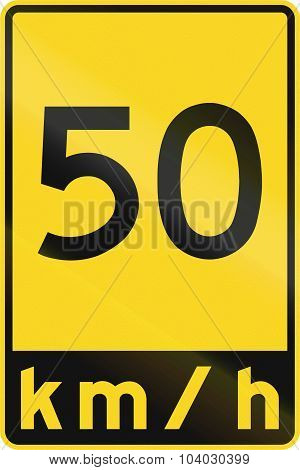 Speed Limit In Canada
