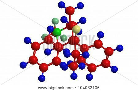 Molecular Structure Of Methadone