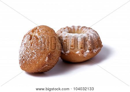 Muffin On A White Background