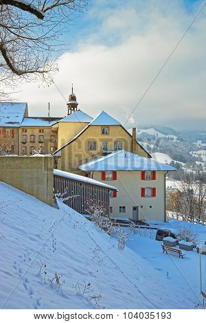 Swiss Village Of Gruyeres