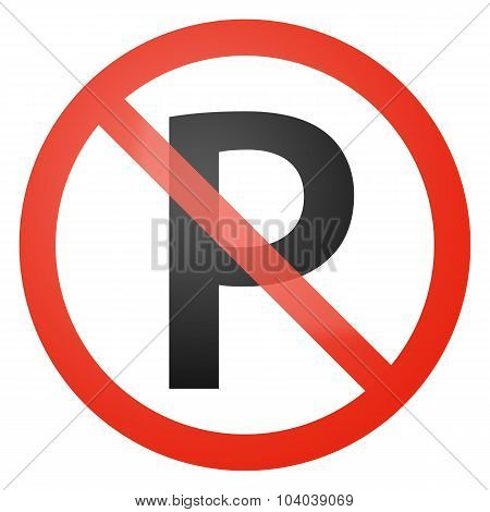 No Parking Allowed Sign