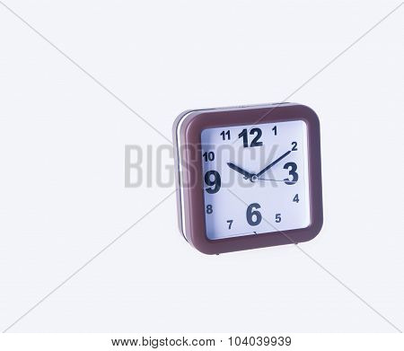 Alarm Clock. Alarm Clock On Background. Alarm Clock On The Background.