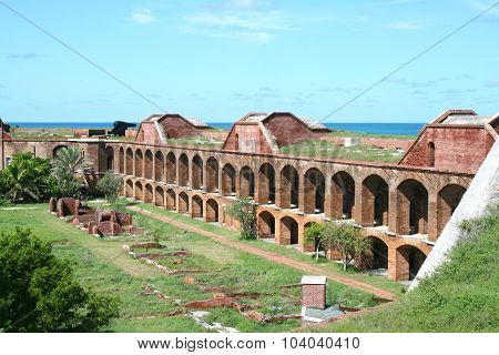 Fort Jefferson inner arches, Dry Tortugas