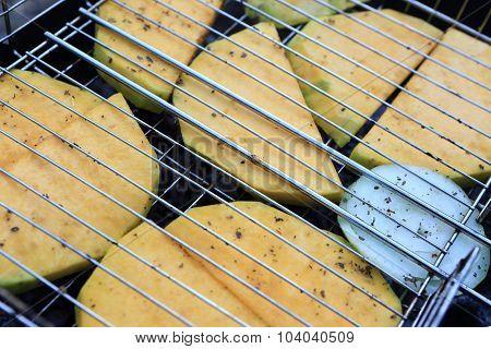 Slices Of Pumpkin