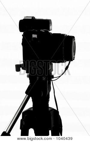 Silhouette Of Camera