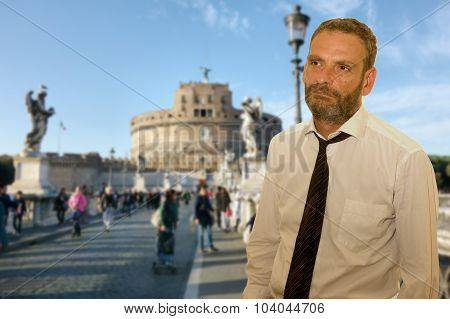 Roman business Man
