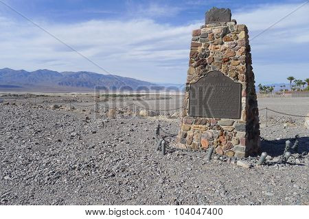 Death Valley 49ers Gateway Monument