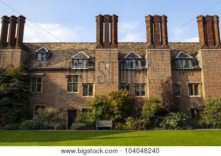 Hitcham Building At Pembroke College In Cambridge