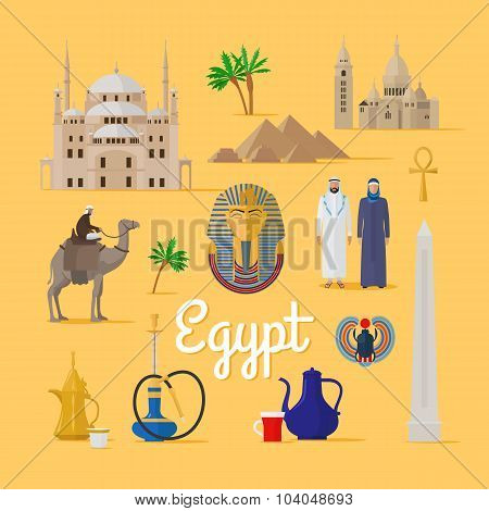 Egyptian Landmarks and Culture