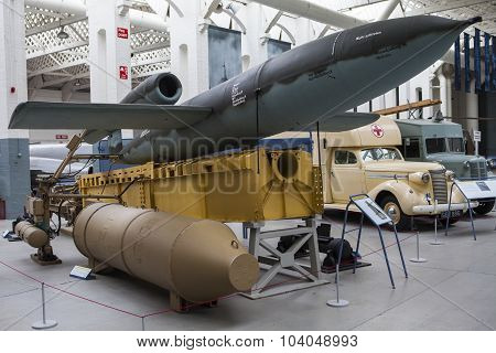 V1 Flying Bomb At Duxford