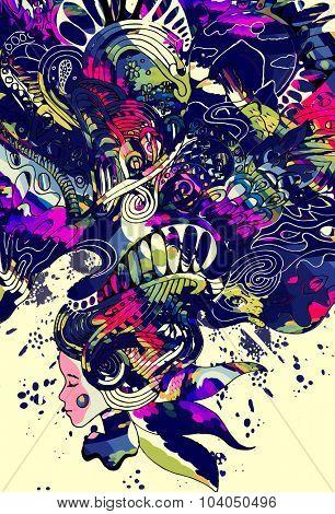 psychedelic princess
