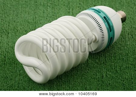 Compact luminescent bulb