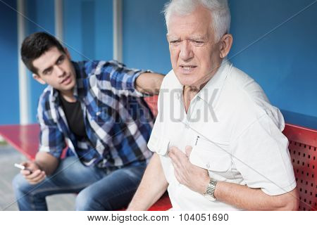 Retiree With Chest Pain