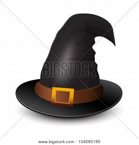 Witch Hat For Halloween. Icon For Halloween