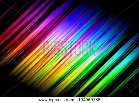 Abstract Rainbow Waves