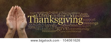 Thanksgiving Word Cloud Website Bannerv