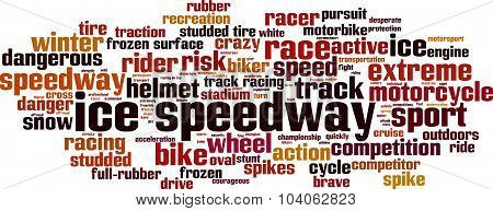 Ice Speedway Word Cloud