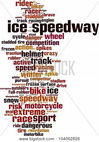 Ice Speedway Word Cloud