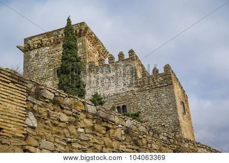 Castle At Espejo, Andalusia, Spain