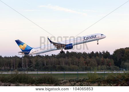 Condor Boeing 757-300 After Take Off