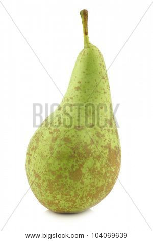 fresh conference pear on a white background